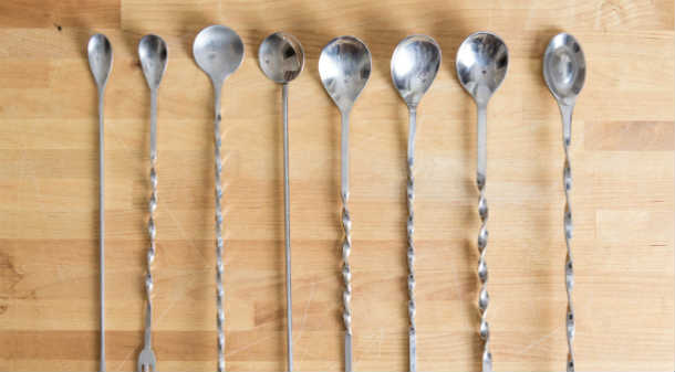 Bar Spoons Barware Basics The Cocktail Novice