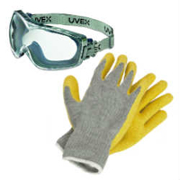 Dry Ice Safety Gear